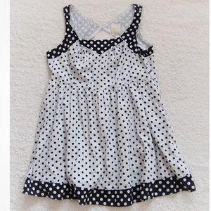 ModCloth Black White Polka Dot Sleeveless Dress 3X